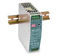AC DC sina DIN Mean Well EDR-150-24 75W 24V 6.5A