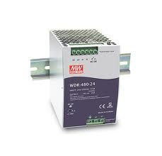 Sursa in comutatie AC-DC Mean Well WDR-480-48 480W/48V/0-10A