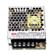 Sursa in comutatie AC-DC Mean Well LRS-50-24 50W 24Vdc 2.2A