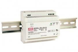 Sursa in comutatie AC-DC Mean Well DR-100-24 100W/24V/0-4,2A