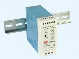 AC DC sina DIN Mean Well MDR-60-24 60W 24V 2.5A