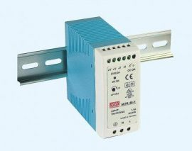 AC DC sina DIN Mean Well MDR-40-24 40W 24V 1.7A