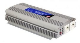 Invertor Mean Well A302-1K7-F3 24VDC-230VAC 1500 W