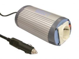 Invertor auto DC-AC Mean Well A301-150-F3 intrare 12 V P: 150 W