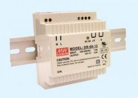 Sursa in comutatie AC-DC Mean Well DR-60-12 60W/12V/0-4,5A