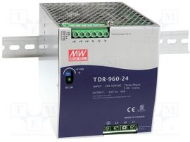 Sursa in comutatie AC-DC Mean Well DRT-960-24 960W/24V/0-40A