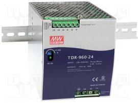 Sursa in comutatie AC-DC Mean Well TDR-960-24 960W/24V/0-40A